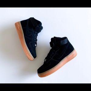 Nike Air Force 1 Hi- Black /Gum Size 8w